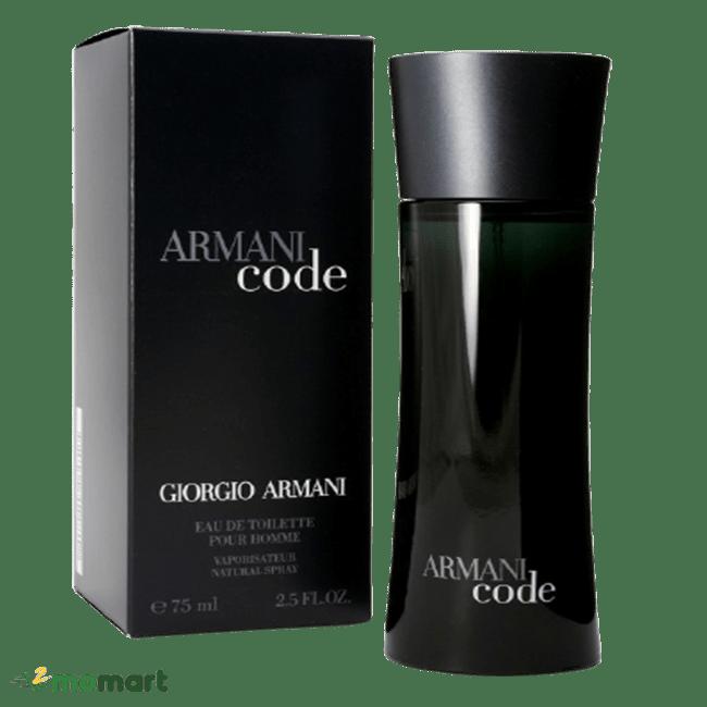 Thiết kế của Nước hoa nam Giorgio Armani Code