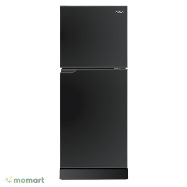 Tủ lạnh Aqua 130 lít AQR-T150FA-BS mặt trước sang trọng