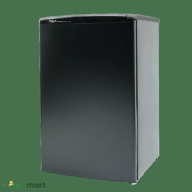 Tủ lạnh Aqua 90 lít AQR-D99FA(BS) chụp nghiêng
