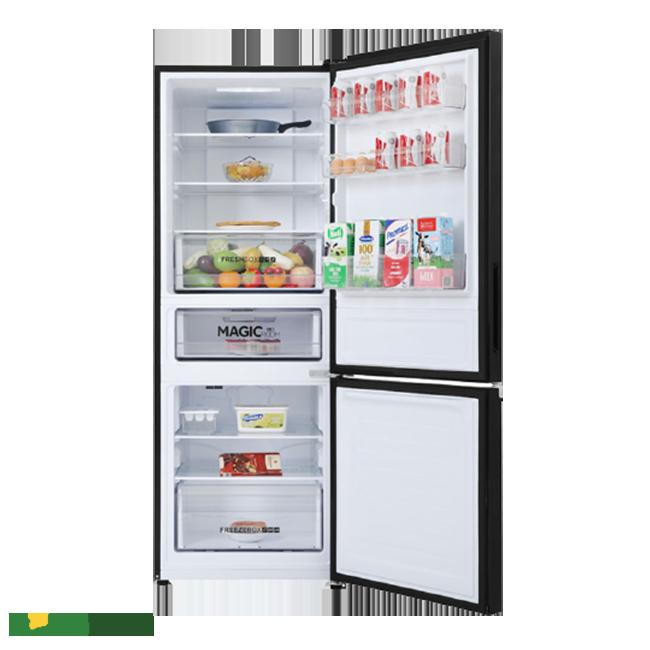Tủ lạnh Aqua Inverter 292 lít AQR-B348MA(FB) tính năng thông minh hiện đại