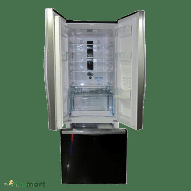 Tủ lạnh Hitachi R-WB475PGV2 thiết kế bên trong