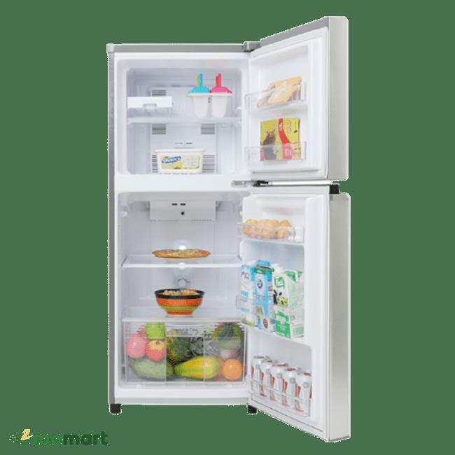 Tủ lạnh Panasonic Inverter 170 lít NR-BA190PPVN chụp bên trong