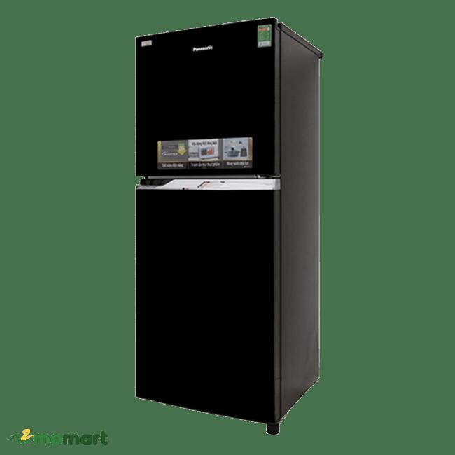 Tủ lạnh Panasonic Inverter 234 lít NR-BL267PKV1 chụp nghiêng trái