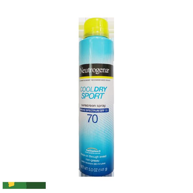 Xịt Chống Nắng Neutrogena Cool Dry Sport Sunscreen Spray SPF70