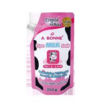 Muối tắm trắng A Bonne Spa Milk Salt