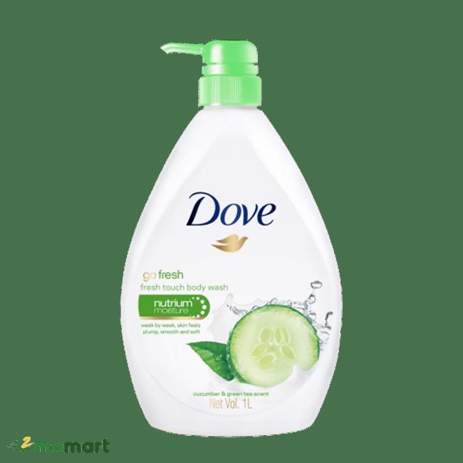 Dove Go Fresh sữa tắm dưa leo