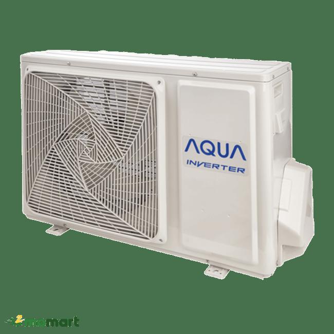 Cục nóng của máy lạnh Aqua AQA-KCRV12WNM