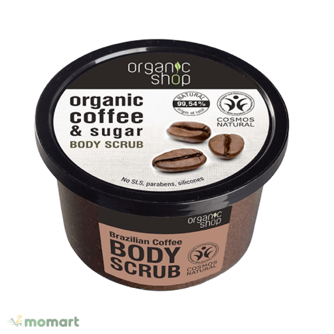 Organic Shop Organic Coffee & Sugar Body Scrub giá tốt