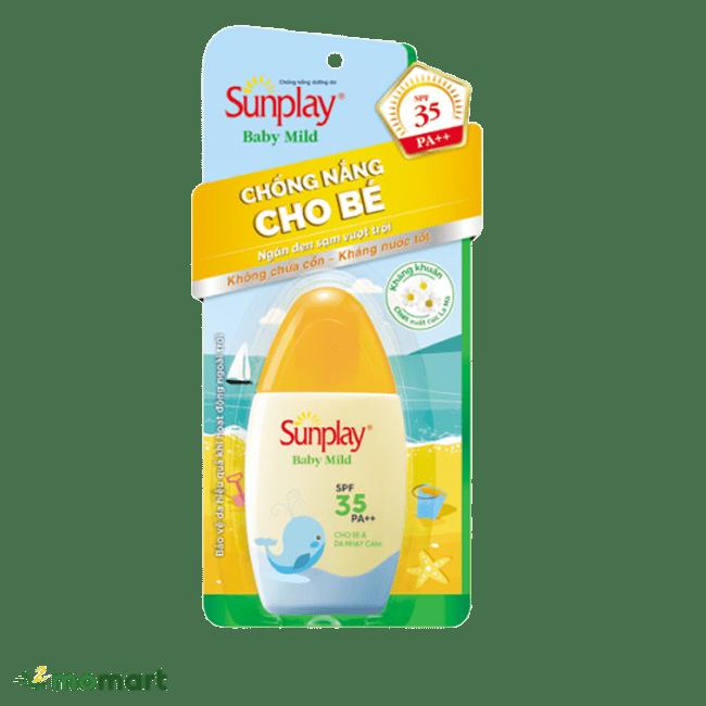 Kem chống nắng Sunplay Skin Aqua dành cho trẻ em