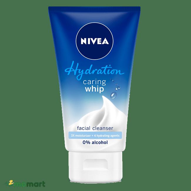 Sữa rửa mặt Nivea Caring Whip