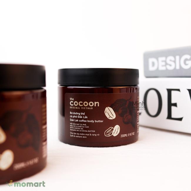 Bơ dưỡng thể cà phê đắk lắk Cocoon lành tính