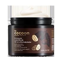 Bơ dưỡng thể cà phê đắk lắk Cocoon thành phần lành tính
