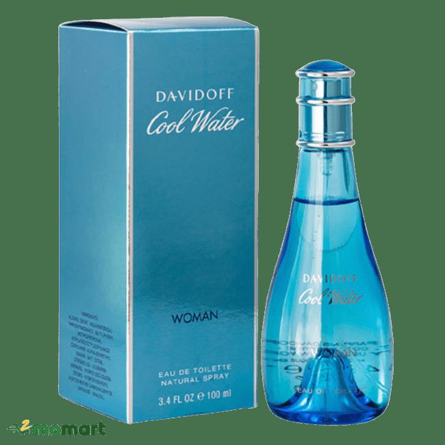 Thiết kế của Davidoff Cool Water Woman