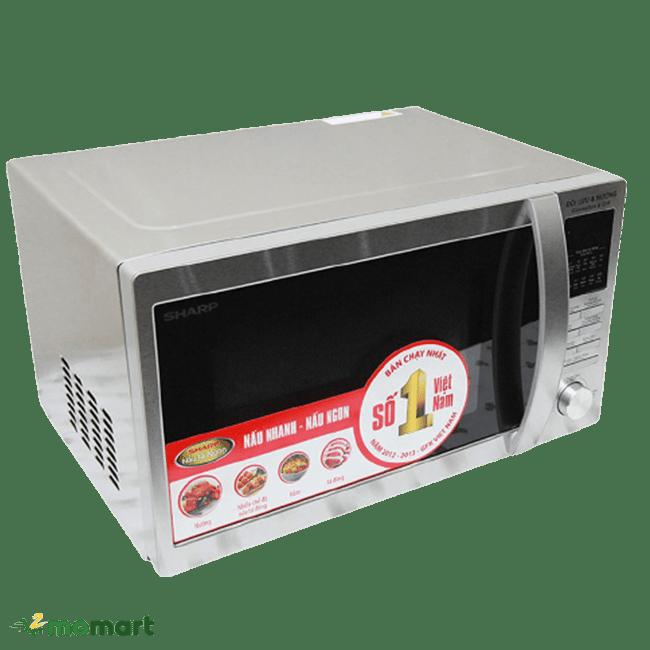 Thiết kế của Sharp R-C825VN(ST) 25 lít