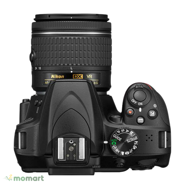 Máy ảnh Nikon D3400 thương hiệu nổi tiếng