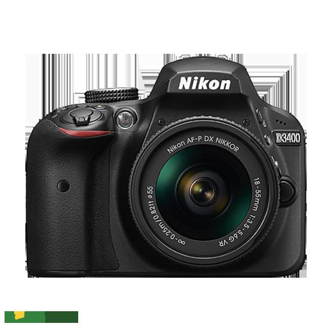 Máy ảnh Nikon D3400 thiết kế sang trọng