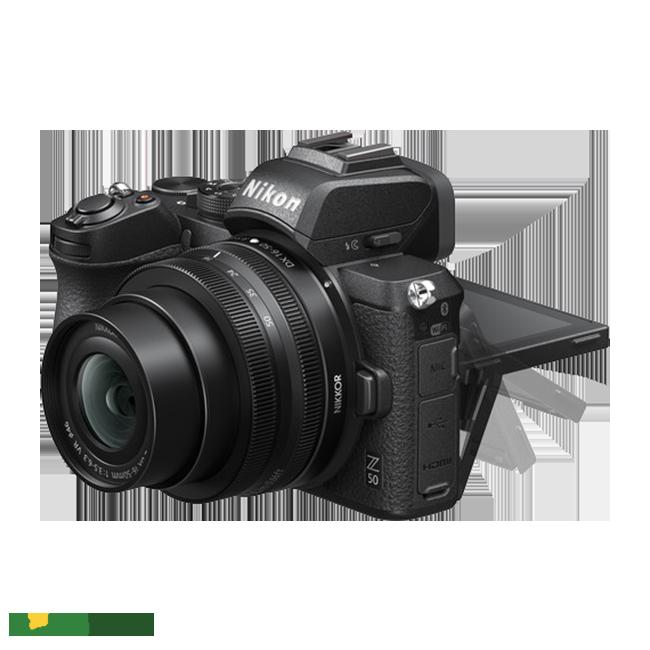 Máy ảnh Nikon Z50 thiết kế sang trong