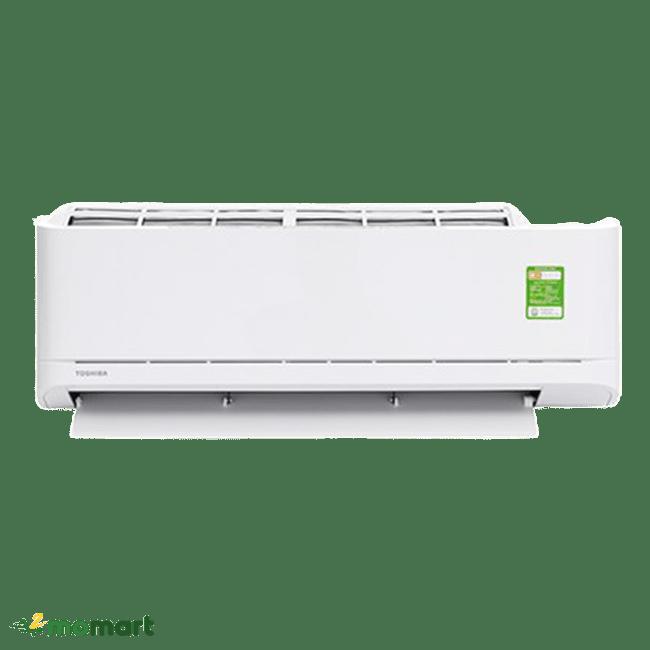 Máy lạnh Toshiba 1 HP RAS-H10U2KSG-V chụp trực diện
