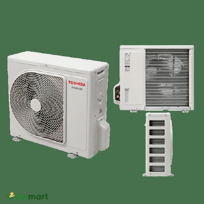 Máy Lạnh Toshiba RAS-H10D2KCVG-V cục nóng nhỏ gọn
