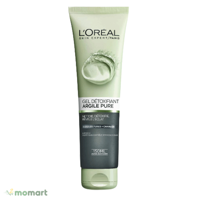 Sữa rửa mặt L'Oreal Pure Clay Cleanser làm mềm da