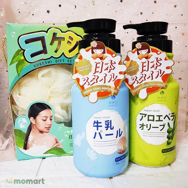Sữa tắm Hasi Kokeshi dưỡng sáng