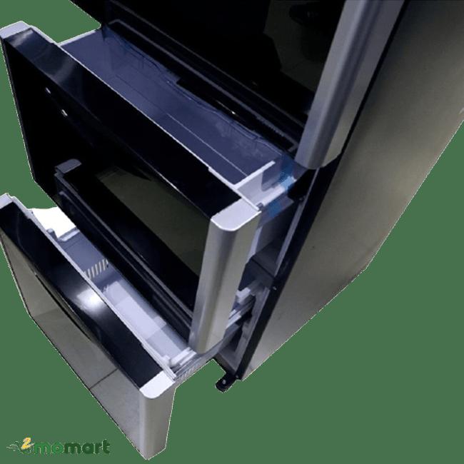 Ngăn chứa của Hitachi R-SG38PGV9X(GBW) inverter 375 lít