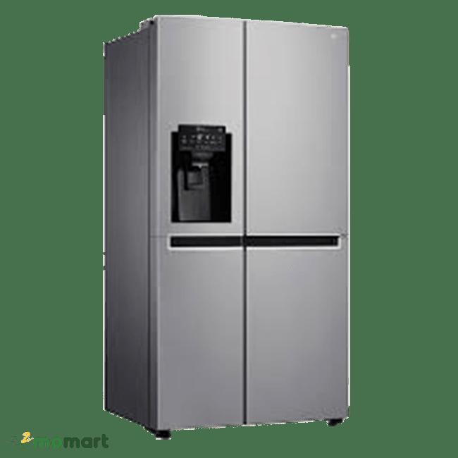 Thiết kế tủ lạnh LG SBS GR-D247JDS