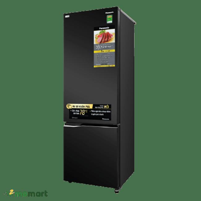 Góc trái của tủ lạnh Panasonic NR-BC360QKVN