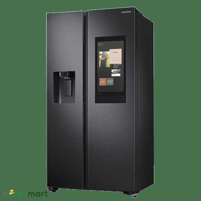 Tủ lạnh Samsung RS64T5F01B4/SV chụp nghiêng