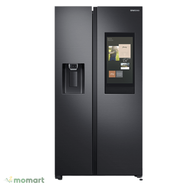 Tủ lạnh Samsung RS64T5F01B4/SV chụp trực diện