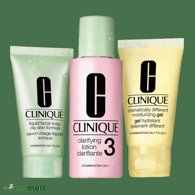 3 bước chăm sóc da cơ bản của Clinique dễ mua