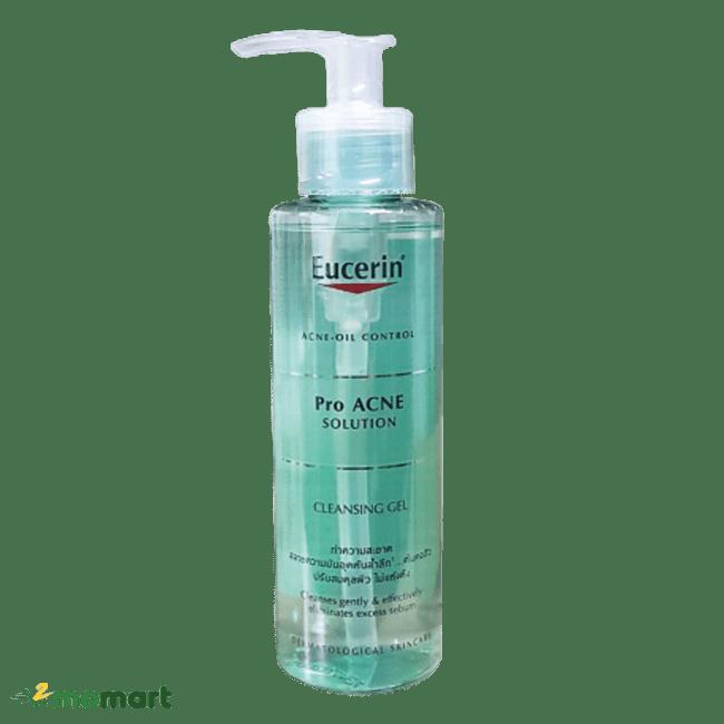 Eucerin Pro Acne Solution Cleansing Gel điều trị mụn