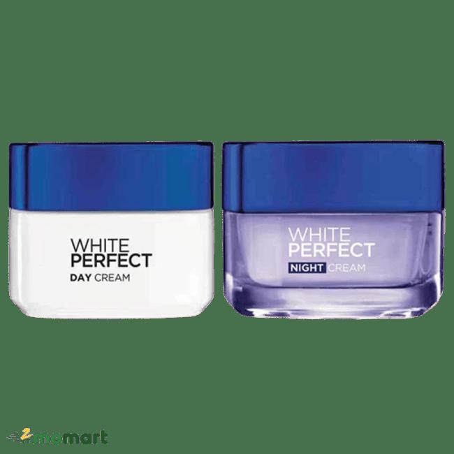 Hai phiên bản sáng đêm Loreal White Perfect Clinical