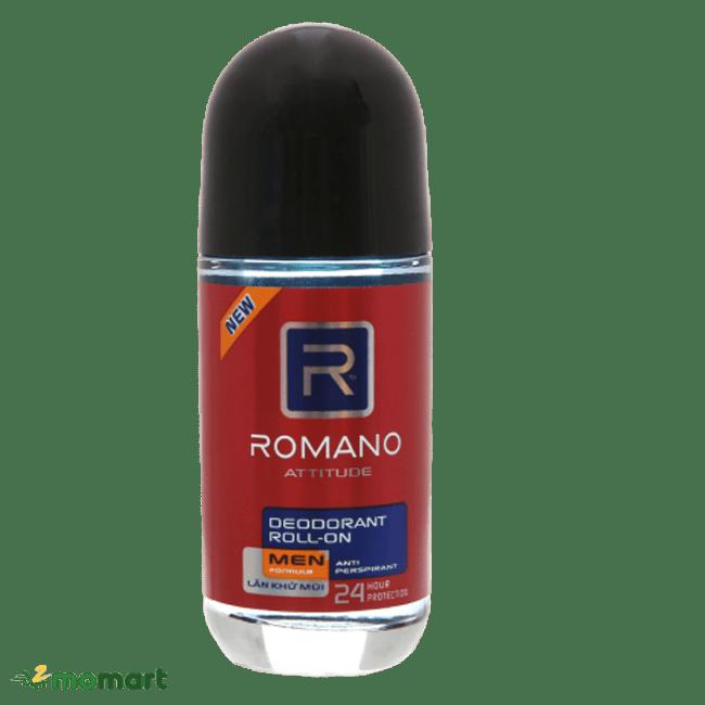Lăn ngăn mùi Romano khử mùi hiệu quả