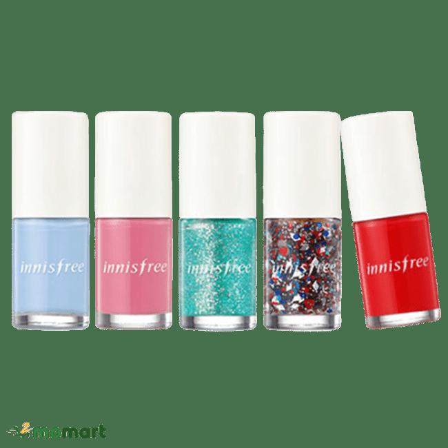 Năm sản phẩm sơn móng tay Innisfree