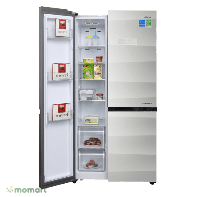 Tủ Lạnh Aqua AQR-IG585AS (GS)