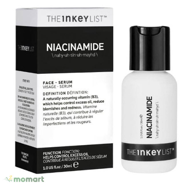 Serum The Inkey List Niacinamide giúp cấp ẩm
