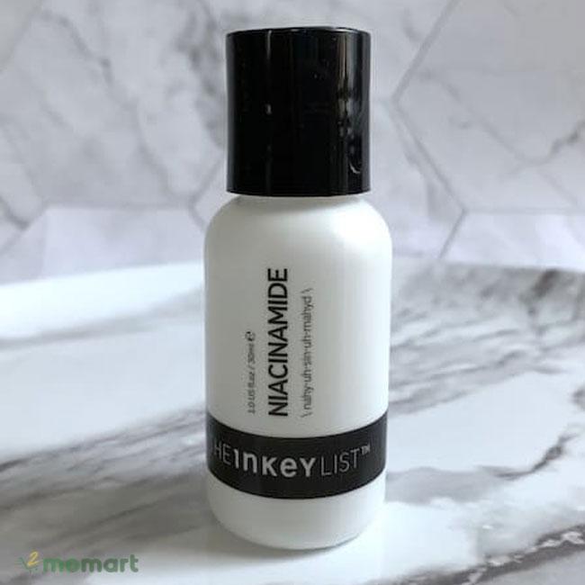 Serum The Inkey List Niacinamide giúp se nhỏ chân lông