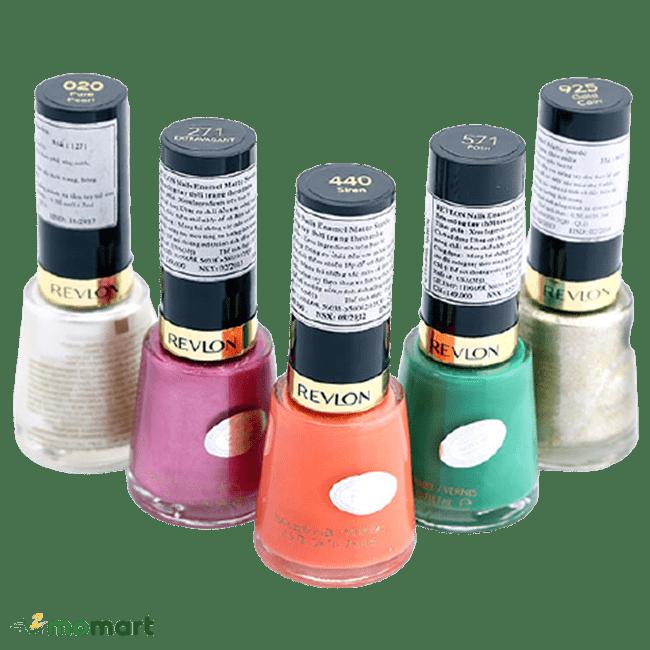 5 chai sơn móng tay Revlon