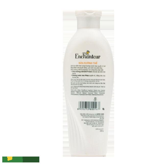 Sữa dưỡng thể Enchanteu được ưa chuộng nhất