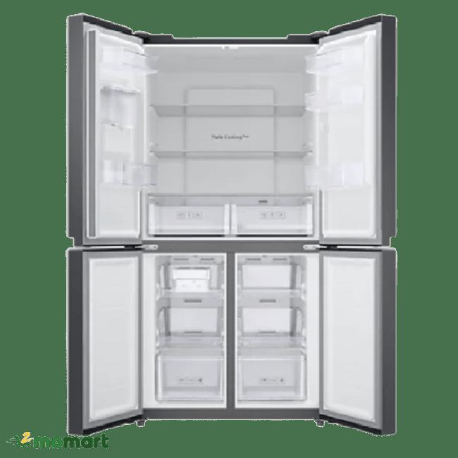 Bên trong tủ lạnh Samsung RF48A4010B4