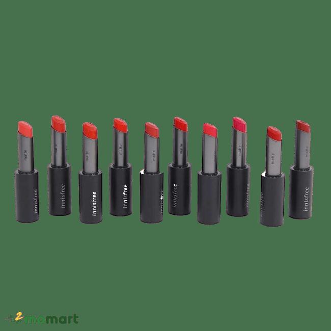 Son Innisfree Real Fit Matte Lipstick chính hãng