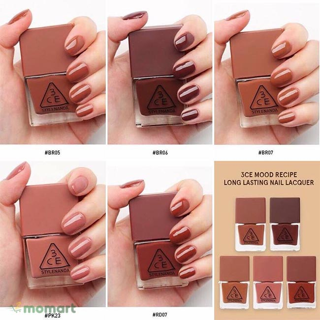 3CE Long Lasting Nail Lacquer
