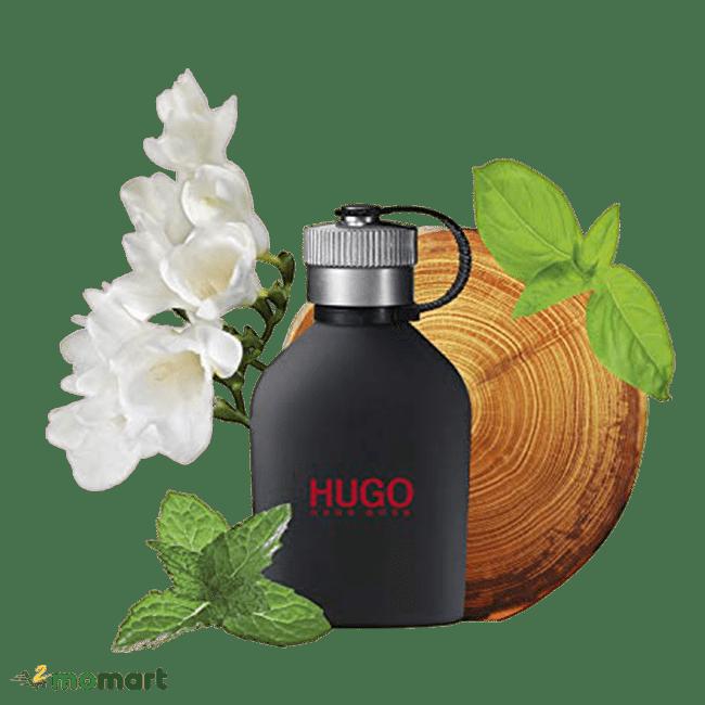 Hugo Boss Just Different chứa thành phần đặc biệt