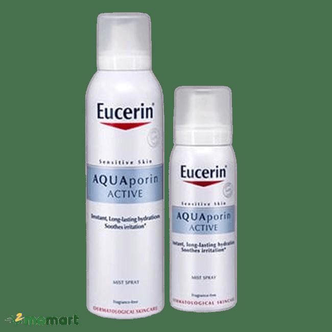 Xịt khoáng Eucerin cung cấp nước hiệu quả