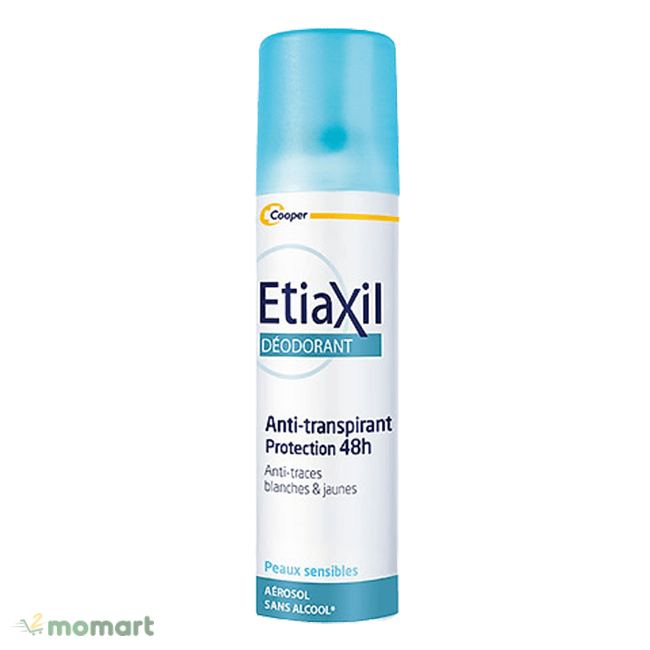 Thiết kế của xịt khử mùi Etiaxil
