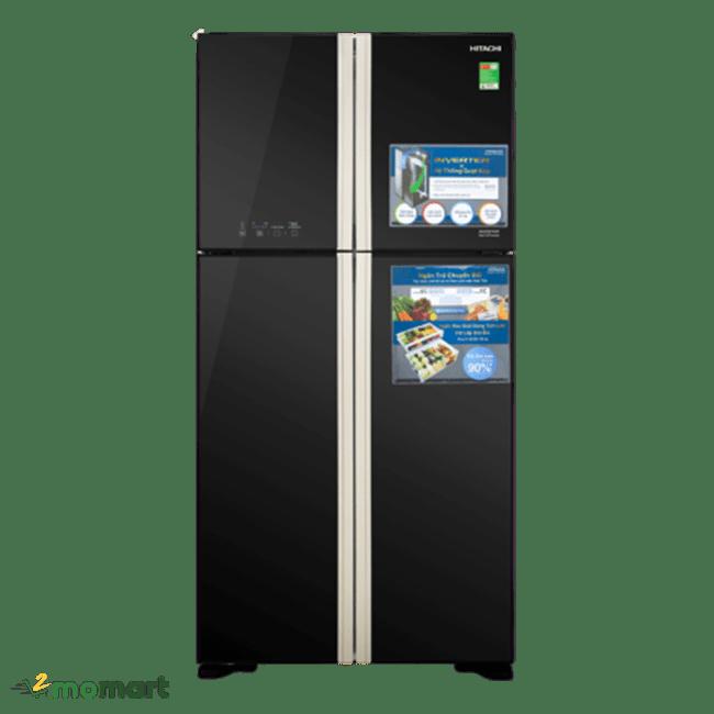 Hitachi Inverter 509 lít R-FW650PGV8 chụp trực diện