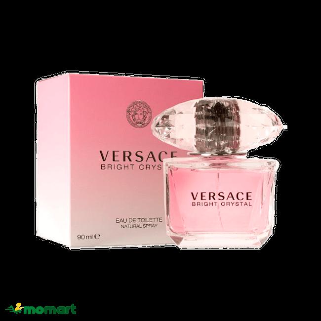 Nước hoa nữ Versace Bright Crystal có hương hoa cỏ thơm ngát
