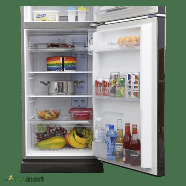 Ngắn chứa của tủ lạnh Aqua Inverter 186 lít AQR-I209DN DC