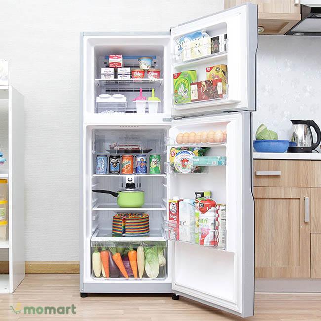 Tủ lạnh Hitachi Inverter 203 lít R-H200PGV4 ngăn rau củ